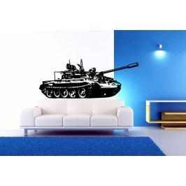 Tank (60 x 24 cm) -  Samolepka na zeď
