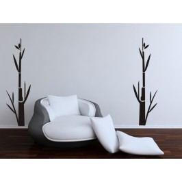 Bambus 2 kusy (Výška: 50 cm) -  Samolepka na zeď