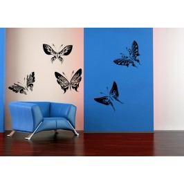 Motýlci ART 5kusů - Dekorace do bytu