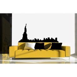 Panoráma New York (60 x 28 cm) -  Samolepka na zeď