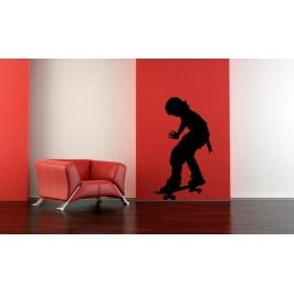 Skaťák 2 (50 x 28 cm) -  Samolepka na zeď
