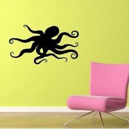 Chobotnice (50 x 29 cm) -  Samolepka na zeď