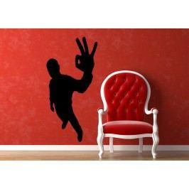 Vše OK (60 x 29 cm) -  Dekorace na zeď