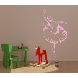 Baletka (60 x 31 cm) -  Samolepka na zeď