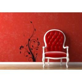 Modern Floral (60 x 31 cm) -  Samolepka na zeď