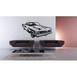 Auto 2 (60 x 32 cm) -  Samolepka na zeď