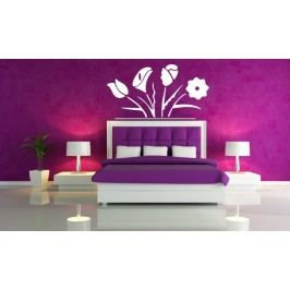 Květiny fouer (60 x 32 cm) -  Dekorace