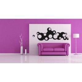 Bubliny modern (98 x 36 cm) -  Samolepka na zeď