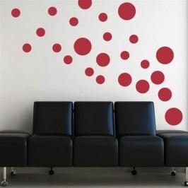 Směs kruhů - Samolepka na zeď