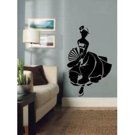 Španělská tanečnice (60 x 38 cm) -  Samolepka na zeď