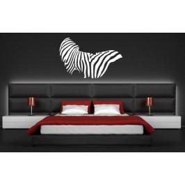 Xdecor Motiv zebra (60 x 39 cm) -  Samolepka na zeď