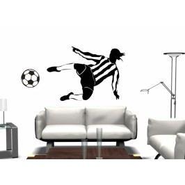 Fotbalista (60 x 41 cm) -  Samolepka na zeď