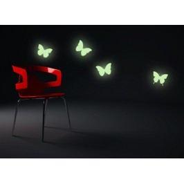 SVÍTICÍ motýlci - Samolepka na zeď