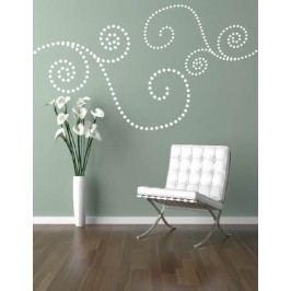 Kruhový obrazec - Samolepka na zeď