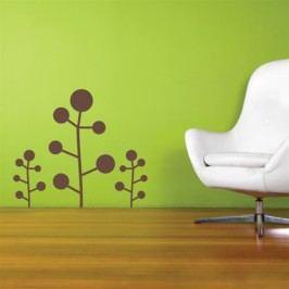 Keříky set 3 kusy (Výška: 1x60  2x30cm) -  Dekorace na zeď