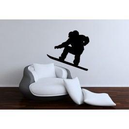 Snowboarďák (60 x 48 cm) -  Samolepka na zeď