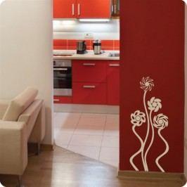 Větrníkové květinky set 10 kusů - Dekorace na zeď