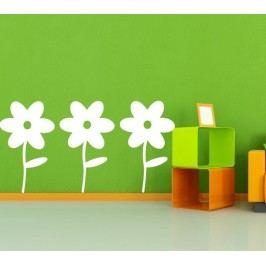 Floreo set 3 kusy (Výška: 70cm) -  Samolepka na stěnu