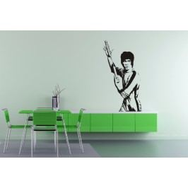 Bruce Lee (98 x 53 cm) -  Samolepka na zeď