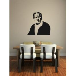 George Bush (60 x 60 cm) -  Samolepka do bytu