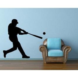 Baseballista (98 x 88 cm) -  Samolepka na zeď