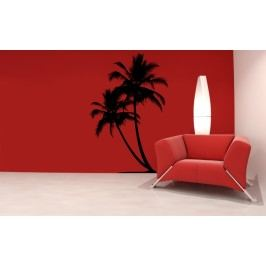 Kokosové palmy (98 x 65 cm ) -  Samolepka na zeď