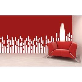 Hudební ekvalizér - Dekorace na stěnu