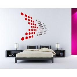 Arrows (98 x 92 cm) -  Samolepka na zeď