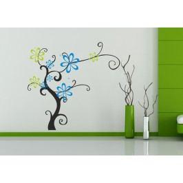 Kěřik s květy (105 x 98 cm) -  Dekorace na stěnu
