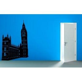 Big Ben a parlament v Londýně (148 x 98 cm) -  Samolepka na zeď