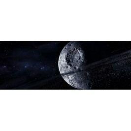 Kráter na měsíci (60 x 22 cm) -  Plakát na zeď