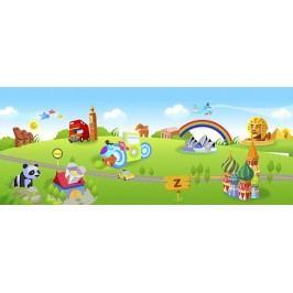 Dětský svět (60 x 24 cm) -  Plakát na zeď