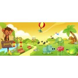 Dětský parčík (60 x 26 cm) -  Plakát na zeď