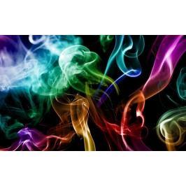 Duhový kouř (60 x 37 cm) -  Plakát na stěnu