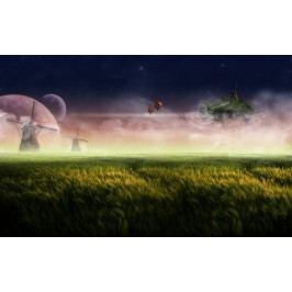Fantasy svět (60 x 37 cm) -  Plakát na zeď