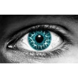 Modré oko (60 x 37 cm) -  Plakát na stěnu