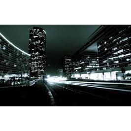 Noční metropole (60 x 37 cm) -  Plakát na stěnu