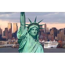 Socha svobody a New York (60 x 38 cm) -  Plakát na zeď