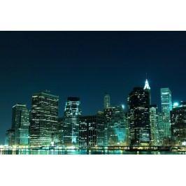 Město v noci 4 (60 x 40 cm) -  Plakát