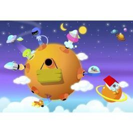 Dětská planeta (60 x 41 cm) -  Plakát na stěnu