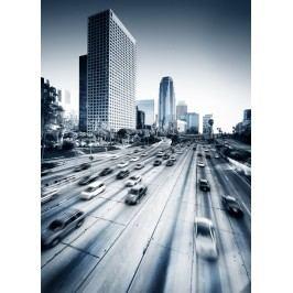 Město ve spěchu (60 x 43 cm) -  Plakát