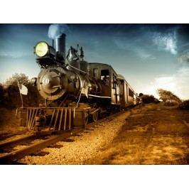 Lokomotiva (60 x 45 cm) -  Plakát na zeď