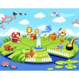 Dětský ostrov (60 x 47 cm) -  Plakát na zeď