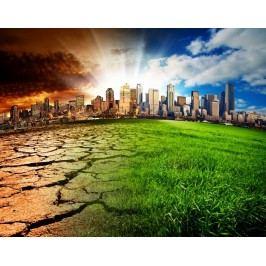 Globální oteplování 2 (60 x 47 cm) -  Plakát na zeď