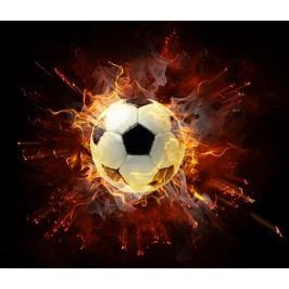 Ohnivý míč (60 x 51 cm) -  Plakát na stěnu