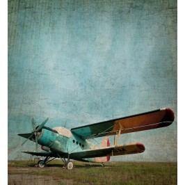 Dvojplošník (60 x 55 cm) -  Plakát na zeď