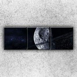 Mrtvá planeta 2 (75 x 25 cm) -  Třídílný obraz