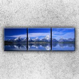 Panorama hor 2 (75 x 25 cm) -  Třídílný obraz