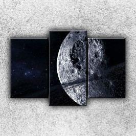 Mrtvá planeta 3 (75 x 50 cm) -  Třídílný obraz