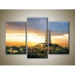 Osaka (75 x 50 cm) -  Třídílný obraz